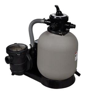 POMPE - FILTRATION  Pompe à filtre à sable 600 W 17000 l-h