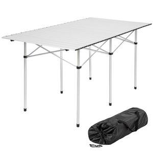 TABLE DE CAMPING TECTAKE Table pliante de Camping  4 à 6 places 140