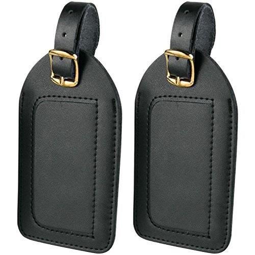Bracelet De Montre Vendu Seul homme en cuir Etiquettes de bagages, Pack 2 Q5KF5