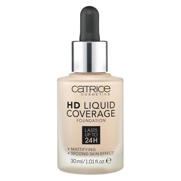 Catrice HD Liquid Coverage Foundation Light Fond de teint Beige 10 150 g