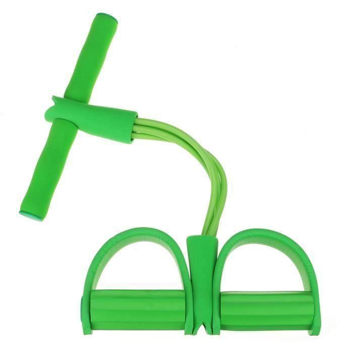 Sangle de musculation cuisses adducteurs pectoraux leg trainer Vert