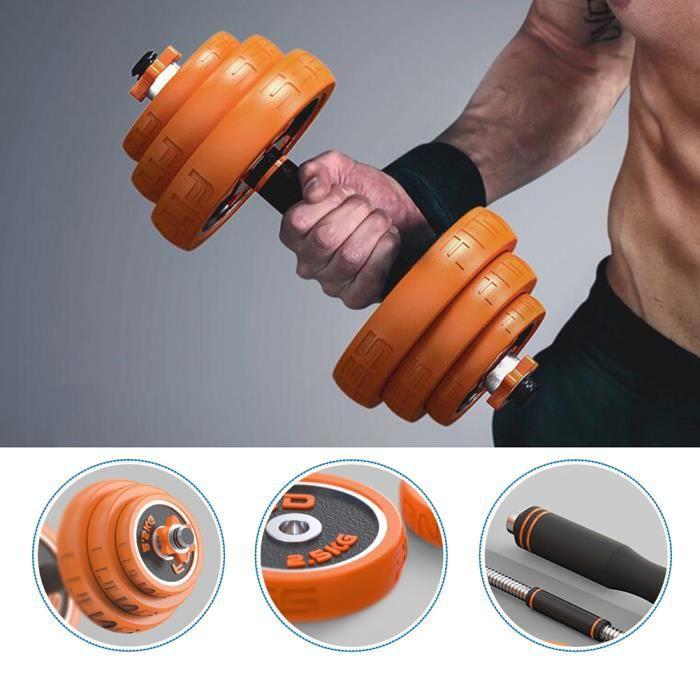 BESPORTBLE d'haltères réglables 30kg- Un excellent cadeau pour les amis qui aiment le fitness.