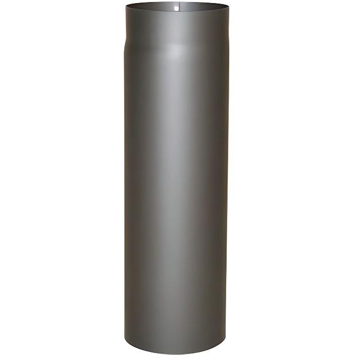 Kamino-Flam 331721 Senotherm Tuyau de poêle Gris Fonte Épaisseur 2 mm Diamètre 120 mm Longueur 500 mm