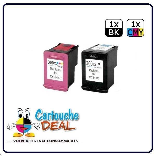 HP Deskjet D2600 D2660 D5560 D5660 F2400 Pack Cartouche générique compatible