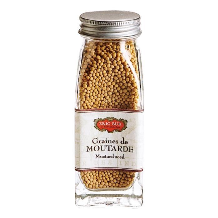 ERIC BUR Epices Graines De Moutarde - 68g