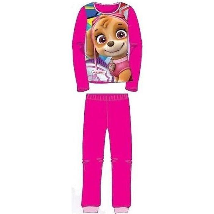 Pyjama polaire fille Pat' Patrouille