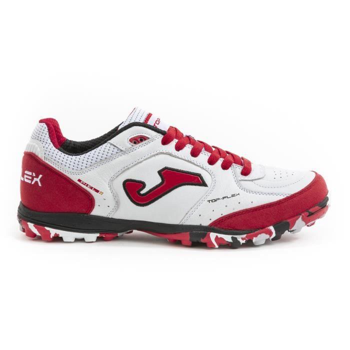 Chaussures de football Joma Top Flex Turf 2022 - blanc/rouge - 44