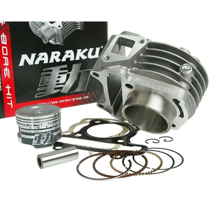 kit cylindre 72cc NARAKU V2 pour SACHS Bee 50cc, SKYTEAM Florida, TAURIS Brio, Capri, Torero, Scooter