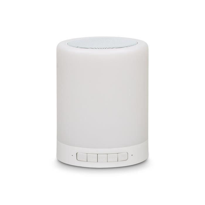 THUMBSUP! Lampe LED haut-parleur - Changement de couleur