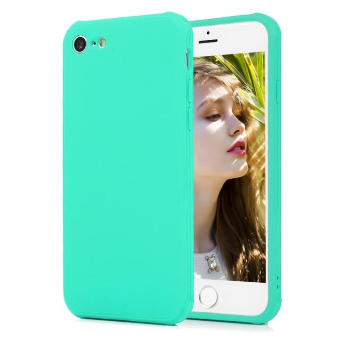 iphone 7 coque silicone couleur