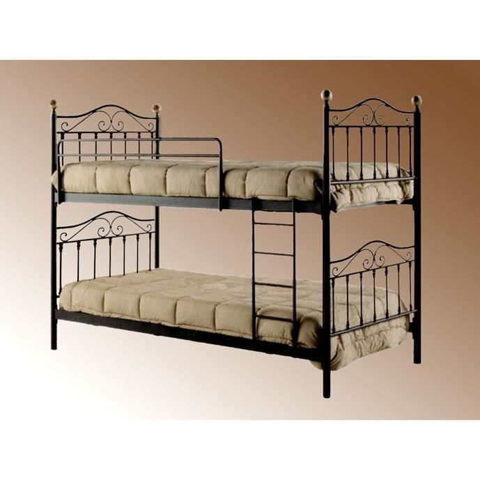 lit superpos en fer forg mod le afrique achat. Black Bedroom Furniture Sets. Home Design Ideas