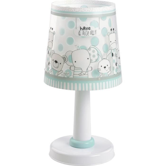 lampe poser enfant friends blanc achat vente. Black Bedroom Furniture Sets. Home Design Ideas