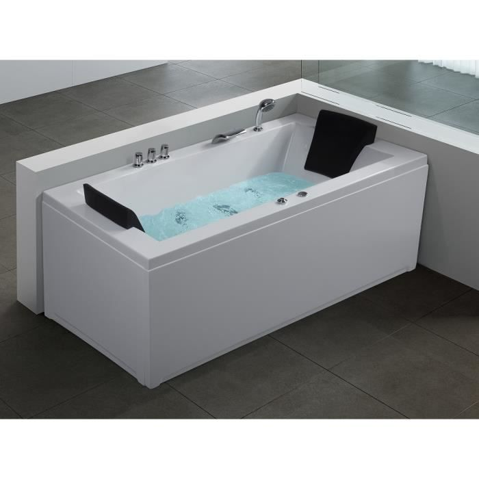 baignoire d 39 angle rectangulaire baignoire baln o whirlpool hydromassage chromoth rapie. Black Bedroom Furniture Sets. Home Design Ideas