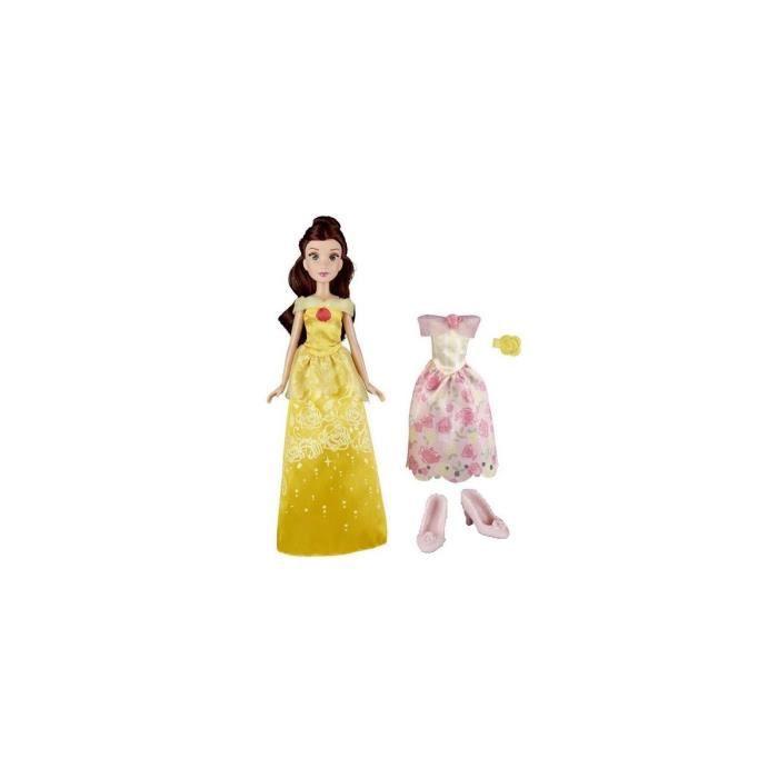 Croissant Disney Princess Belle Et Bete : Poupee Belle Tenue Magique de ZH-49
