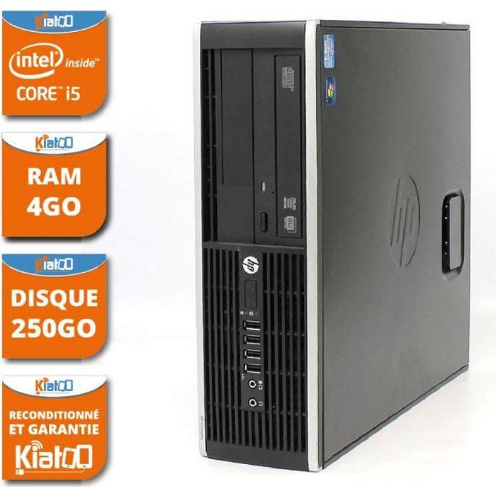 UNITÉ CENTRALE  ordinateur de bureau HP elite 8200 core I5 4go ram