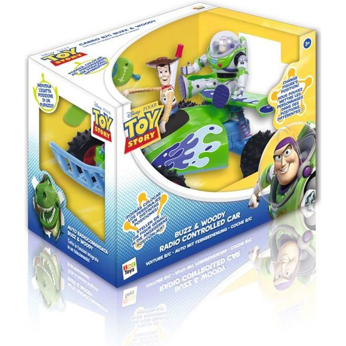 toy story voiture t l command e achat vente voiture. Black Bedroom Furniture Sets. Home Design Ideas