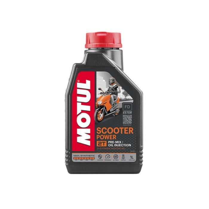huile moteur motul scooter power 2t 1 litre achat. Black Bedroom Furniture Sets. Home Design Ideas