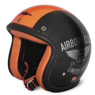 casque airborn ab28lt noir orange achat vente casque moto scooter casque airborn ab28lt noir. Black Bedroom Furniture Sets. Home Design Ideas