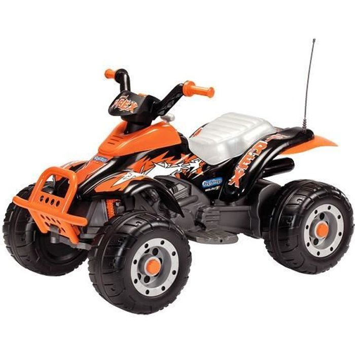 Peg Perego Quad Electrique Enfant Corral T Rex 12 Volts Achat Vente Quad Kart Buggy Cdiscount