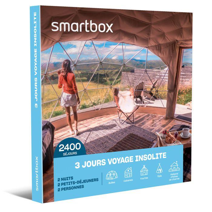 COFFRET SÉJOUR Coffret Cadeau - 3 joursvoyage insolite - Smartbox