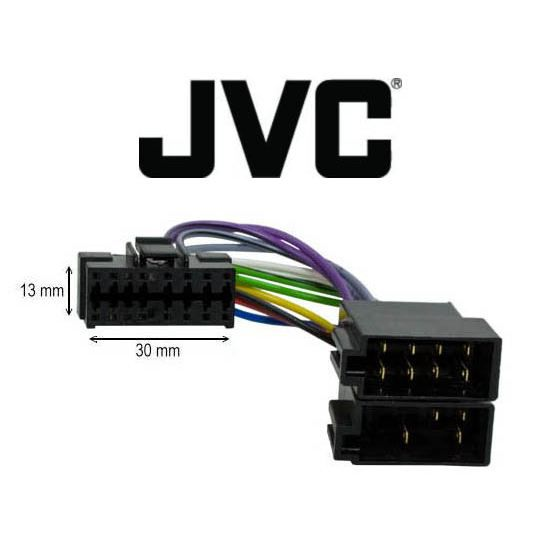 c ble adaptateur iso autoradio jvc 16 pins achat vente c ble tv vid o son c ble iso. Black Bedroom Furniture Sets. Home Design Ideas