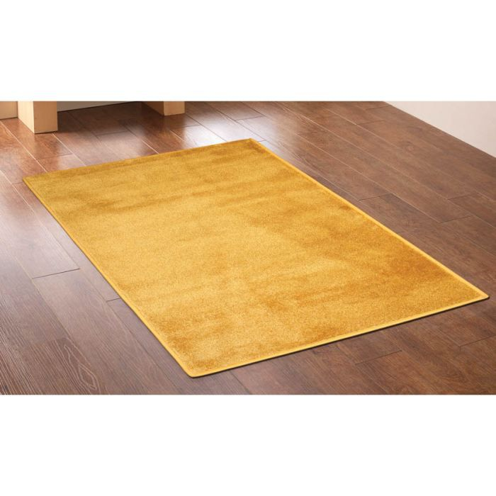 ve giallo oro 33 tapis shaggy cm 200x200 achat. Black Bedroom Furniture Sets. Home Design Ideas