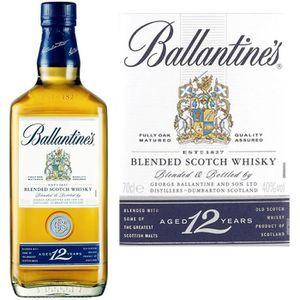 WHISKY BOURBON SCOTCH Whisky Ballantine's 12 ans - Blended whisky - Ecos