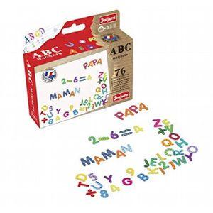 TIRELIRE J8972 Lettres et chiffres Magnets (76 pièces) 1XWB