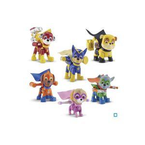 FIGURINE - PERSONNAGE Coffret pack de 6 figurines PAT PATROUILLE super p