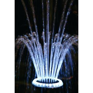 P134 ,Ubbink Eclairage LED Jet d\'eau Volcano 1,, pour bassin ...