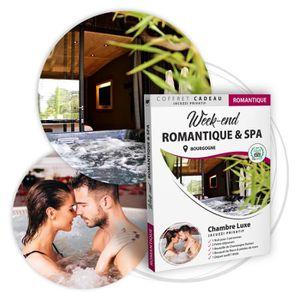 COFFRET SÉJOUR BOX CADEAU COUPLE • Week end ROMANTIQUE avec Jacuz