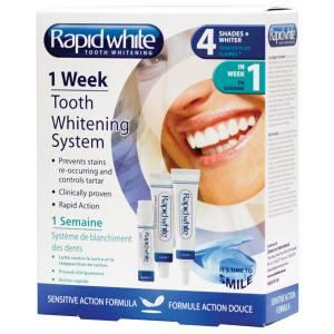 SOIN BLANCHIMENT DENTS Kit de blanchiment dentaire 1 week