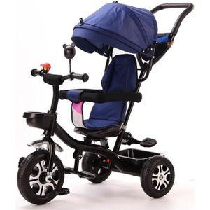 TRICYCLE Tricycle Evolutif - De 1 à 5 ans - Bleu - Bébé mix