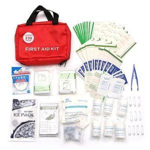 TROUSSE DE SECOURS Kit de 230pcs Trousse de secours sac médicaux urge