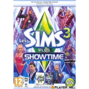 JEU PC Les Sims 3 + ShowTime - PC / MAC [Jeu + Add On]