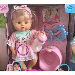 POUPÉE Poupées Barbie peut parler à boire bébé urine poup