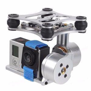 PIÈCE DÉTACHÉE DRONE NEUFU 2-Axis Aluminum Brushless Caméra Mount Gimba