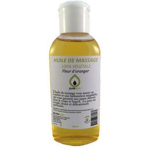 HUILE - LAIT MASSAGE Huile de massage 100% végétale parfumé à la FLEUR