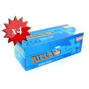 TUBE À CIGARETTE boite de 250 tubes rizla + avec filtre x4