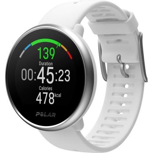 POLAR Ignite Montre Multisports Connectée - Blanc - Taille M/L
