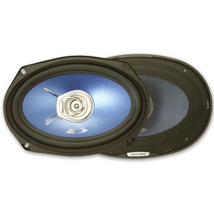 2 ALPINE SXE-69C2 haut-parleurs coaxiaux 2 voies 6 -x 9- 16 x 24 cm 160 x 240 mm 45 watts rms 280 watts max 4 ohms, la paire