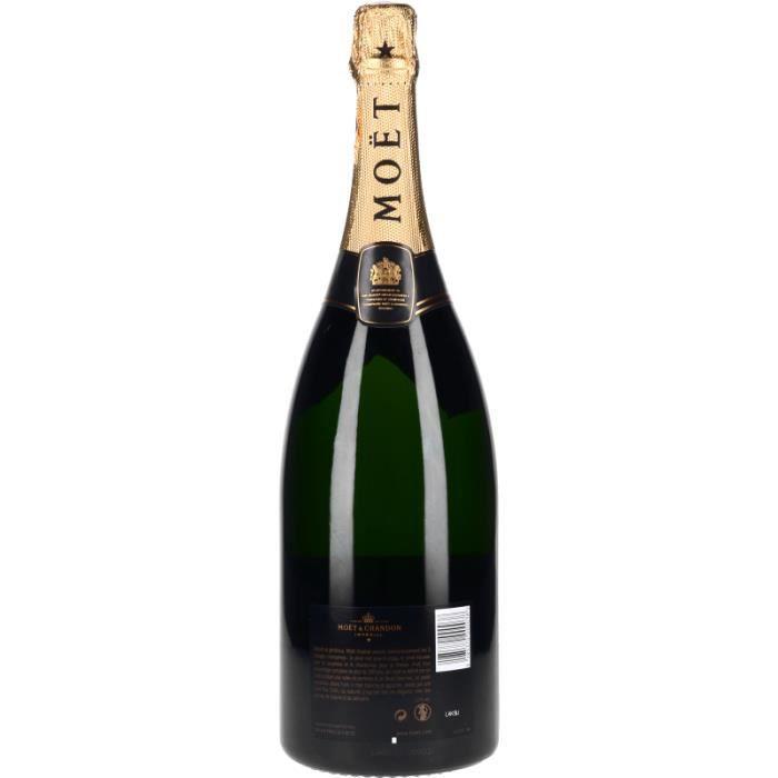 Champagne et Méthode Traditionnelle - Champagne Moët et Chandon Brut Impérial - Magnum 150cl 4>Effervescent