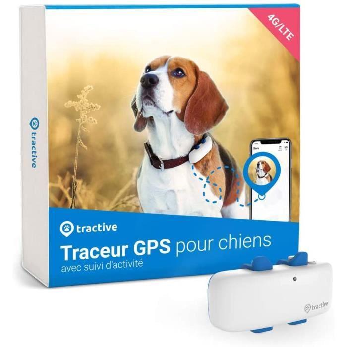 Tractive Traceur GPS Chien (2021) pour Collier Chien, Ne Perdez Plus Votre Chien, Suivi GPS et d'Activité 24 h-24
