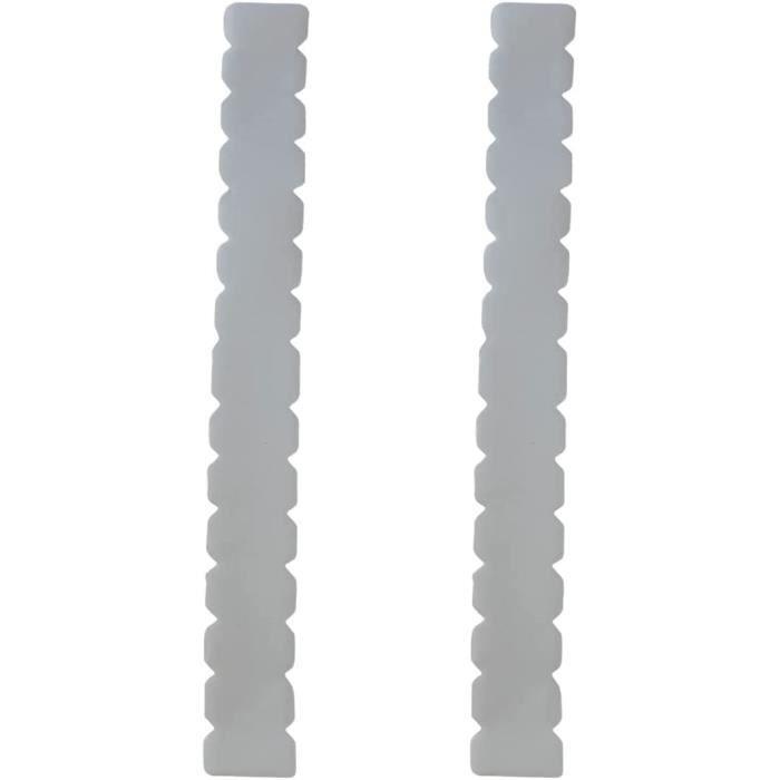 eur de raquette de padel transparent dentelé Pack de deux unités dentées + autocollant de padel eur de raquette Padel transpa