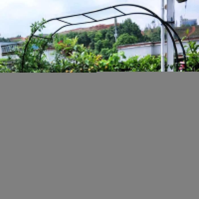 Arche Rosier Jardin en Métal,Treillis D'arche De Jardin Tonnelles,pour Plantes Grimpantes,Pergola De Gloriette Fer Forge,Résist 825