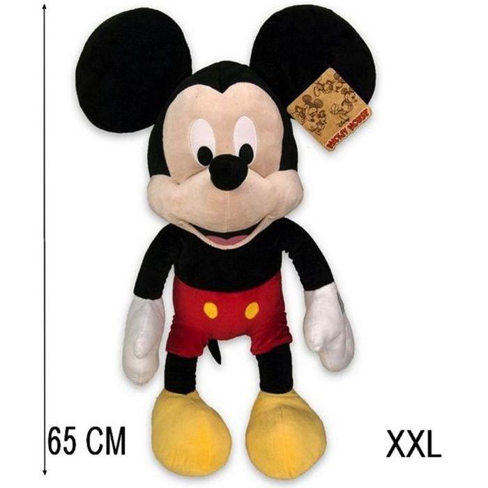 Peluche Mickey Mouse 65 cm XXL Collector 90e Anniversaire GUIZMAX