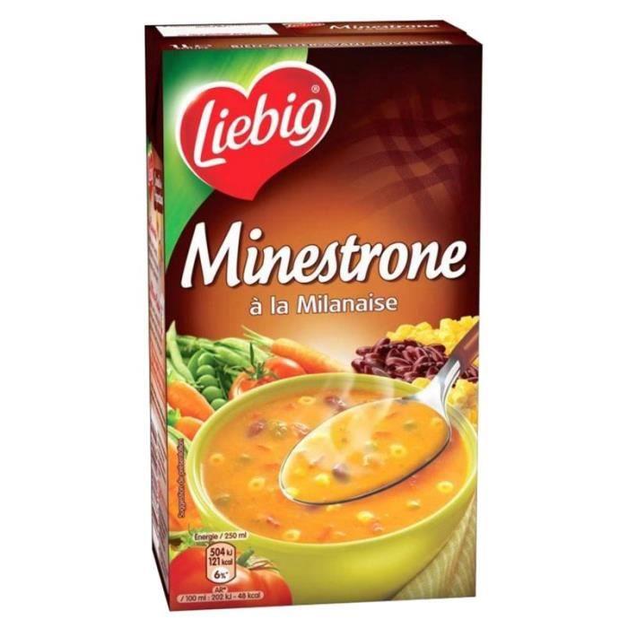 Liebig - Liebig Soupe Minestrone à la Milanaise (lot de 3)