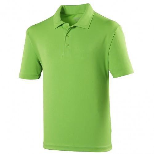 Polo sport uni Just Cool pour homme Vert citron