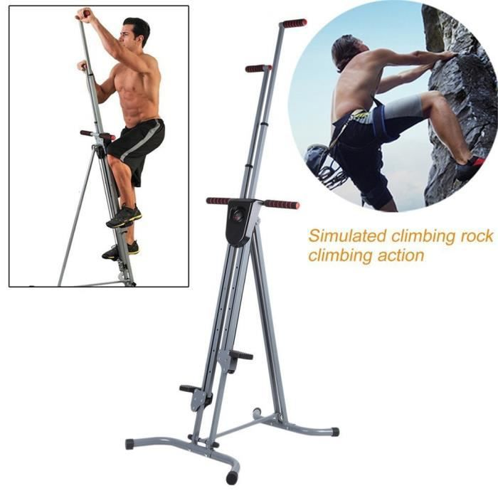 machine d'escalade verticale stepper fitness grimpeur stepper entrainement complet