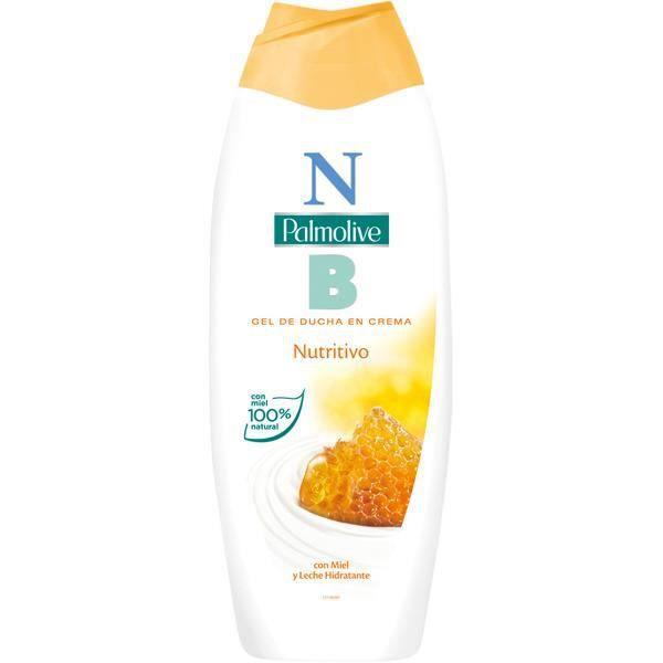 Le Gel Douche Nourrissant Palmolive est enrichi avec du lait hydratant et extraits de miel et d'aloès vera 100% naturel. Sa formule